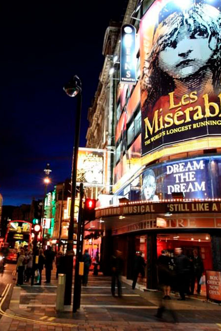 LONDRA: THEATRE & MUSICAL TOUR